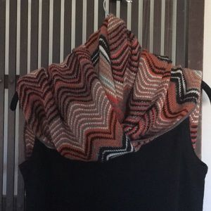 Missoni long scarf with fringes